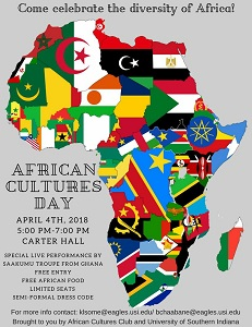 African Club to host celebration of diversity