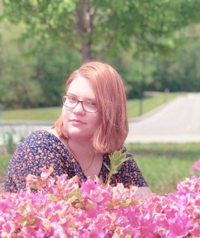 Carli Murkve photographed on campus.
