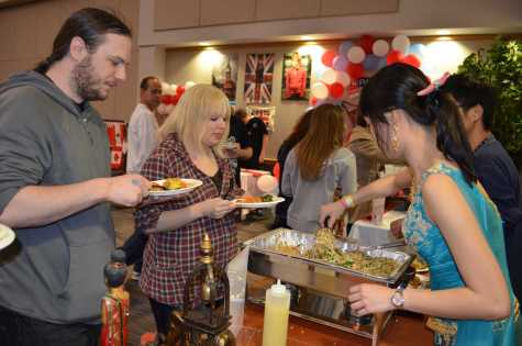 Students sample world cultures at food expo