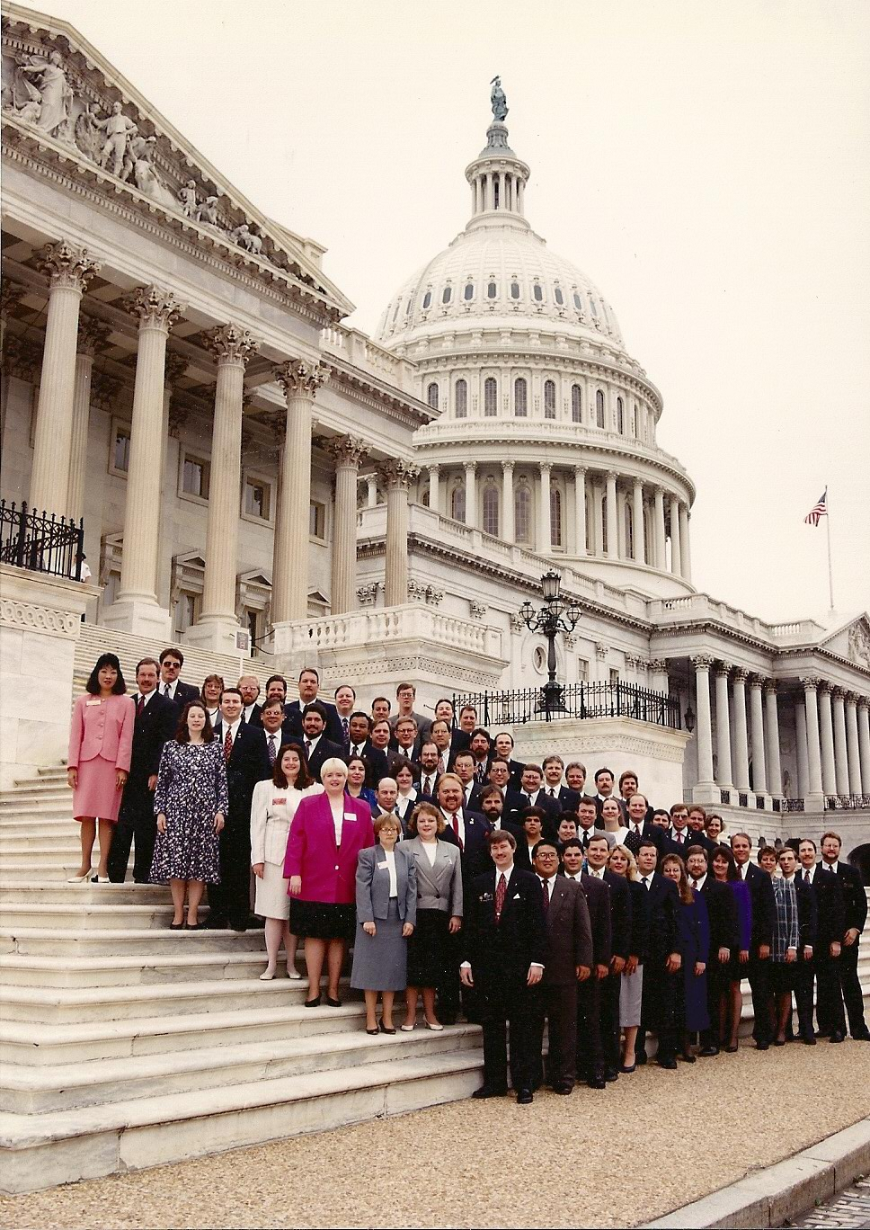 1992-93 USJCC National Officers and State Presidents
