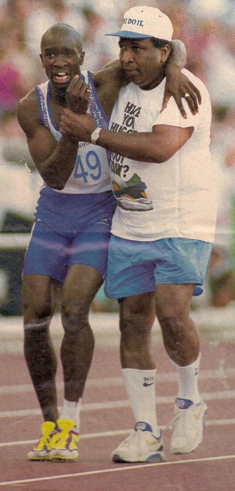 Dereck and Jim Redmond