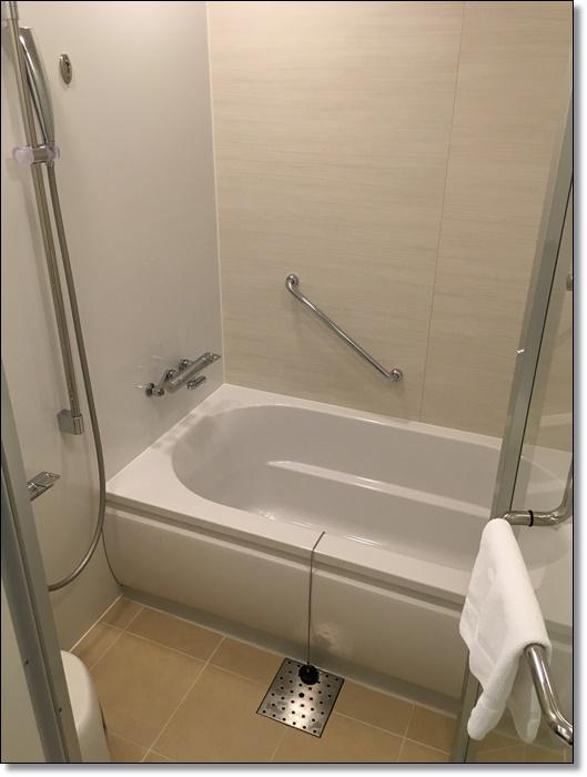 USJ パークフロントホテル 部屋 お風呂