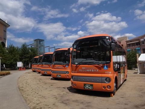 オレンジゆずるバス