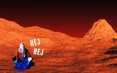 NASA's andra bild från landningen på Mars var chockerande