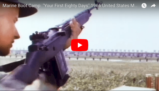 """Marine Boot Camp: """"Your First Eighty Days"""" 1966"""