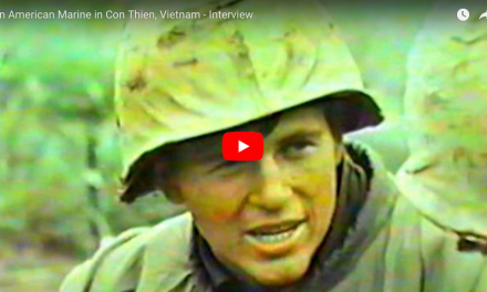 American Marine in Con Thien, Vietnam – Interview