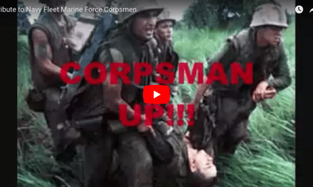 Corpsmen Up: Tribute to Navy Fleet Marine Force Corpsmen