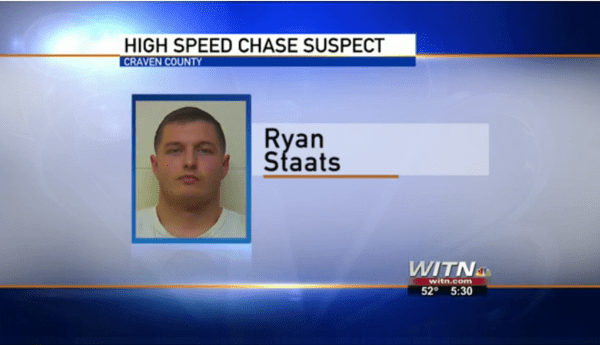 High Speed Chase Yesterday In Riverside