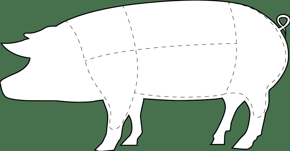Carne de cerdo americana