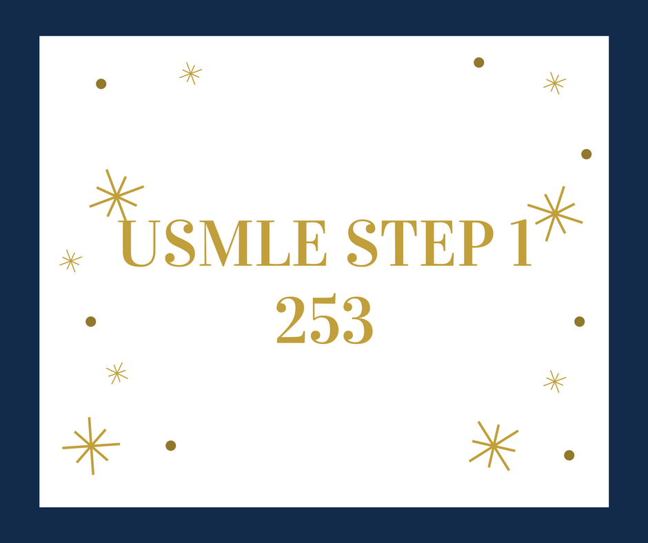 US MS2 scores 253 on USMLE Step 1 - Experience of 253