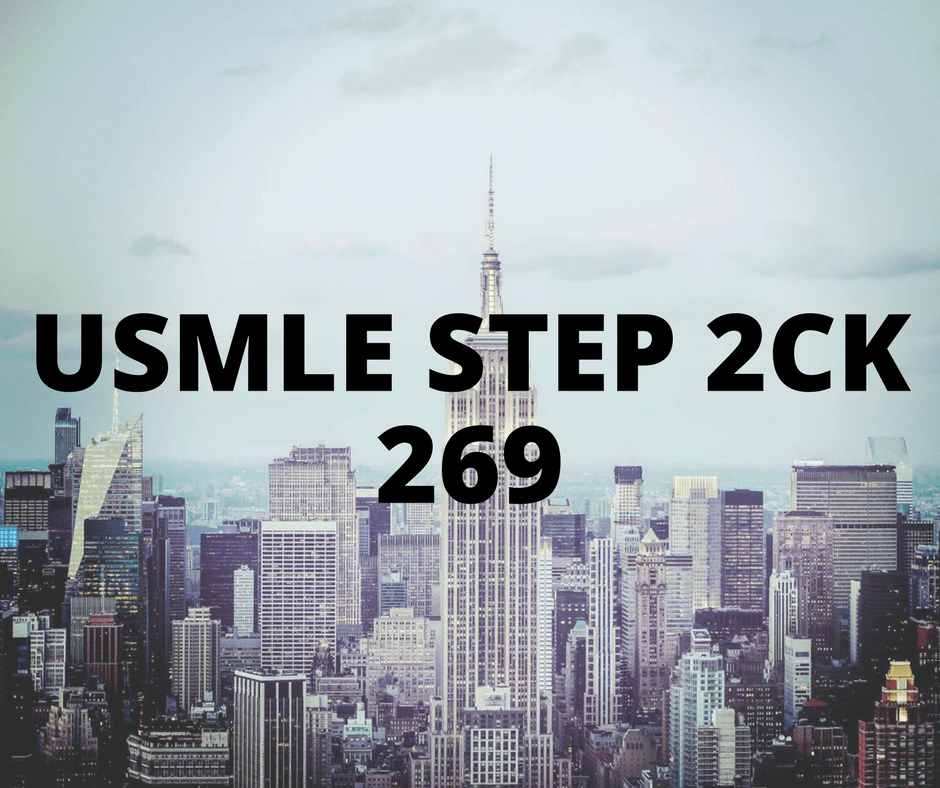 Kiara Kay (India) - USMLE Step 2 CK 269