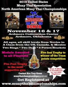 2019 USMTA North American Championships @ Ardmore Convention Center