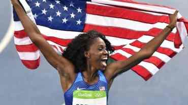 #Blackgirlmagic takes spotlight at the Olympics