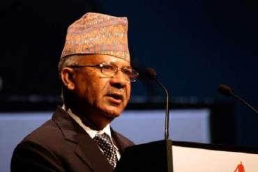 """""""लोकतन्त्र मान्ने हो भने निर्वाचनमा जान कोही पनि डराउनुहुँदैन्"""":- पूर्वप्रधानमन्त्री नेपाल"""