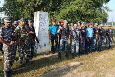 नेपाल भारतका सुरक्षाकर्मीद्वारा सीमा क्षेत्रमा संयुक्त गस्ती