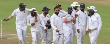 भारतले जित्यो दक्षिण अफ्रिकाविरुद्धको टेस्ट