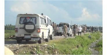 कञ्चनपुरमा भारतीय सीमा सुरक्षा बल हतियार सहित प्रवेश
