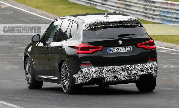 2020 BMW X3M Exterior