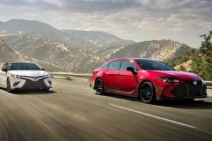 2021 Toyota Camry Spy Photos