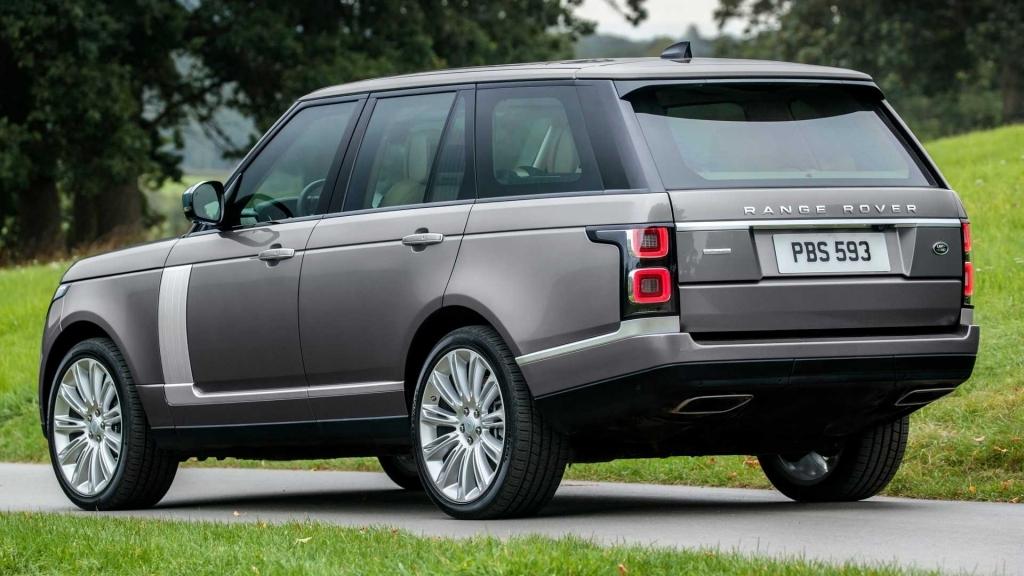 2020 Range Rover Vogue Exterior