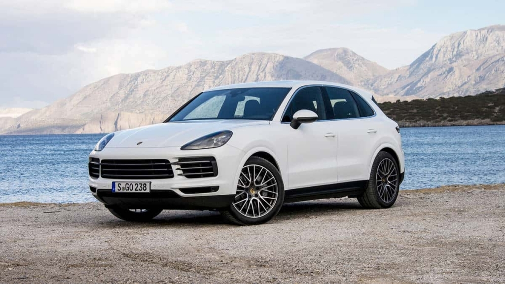 2021 Porsche Cayenne Spy Photos