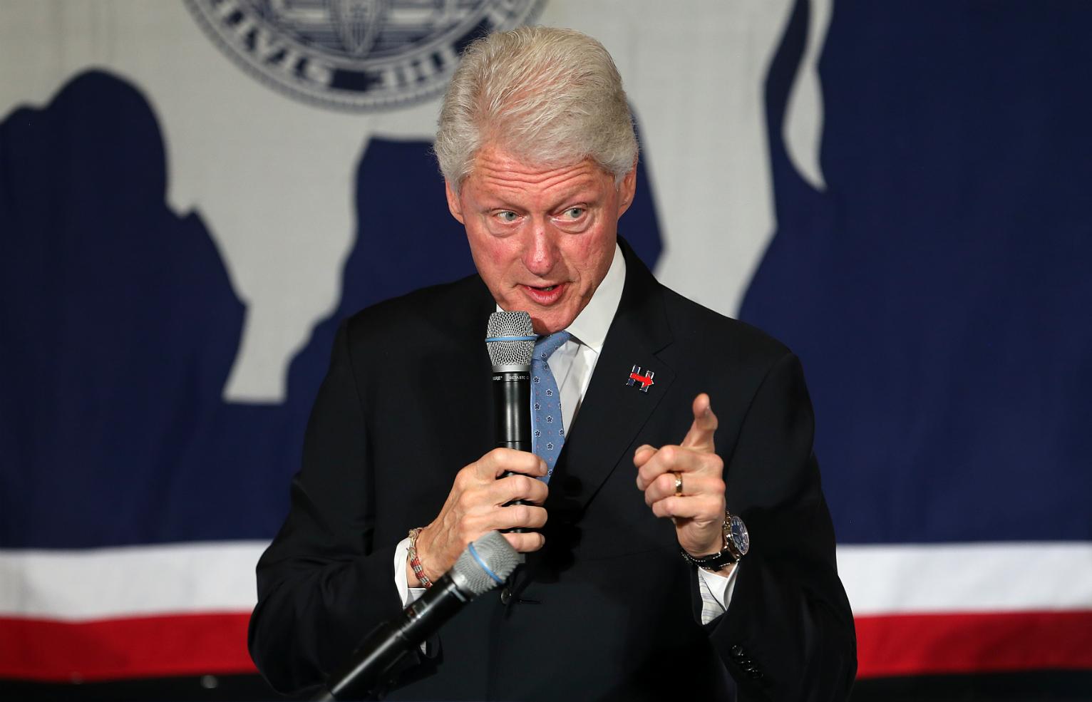 Former President Clinton Defends 1996 Crime Bill, 'Super