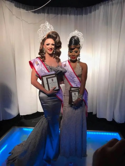 Congratulations Ivy Dripp, Miss Gay Gulf Coast USofA 2018 & Mercedes Alexander, Miss Gay Gulf Coast USofA Classic 2018 !!