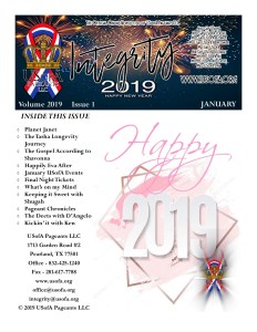 USofA Pageants Integrity Newsletter January 2019