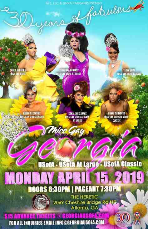 Miss Gay Georgia USofA Classic 2019 #usofapageants
