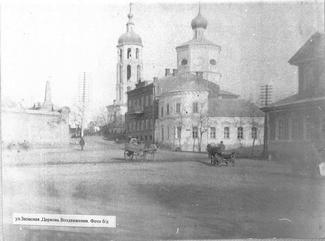 Крестовоздвиженская церковь г. Астрахани
