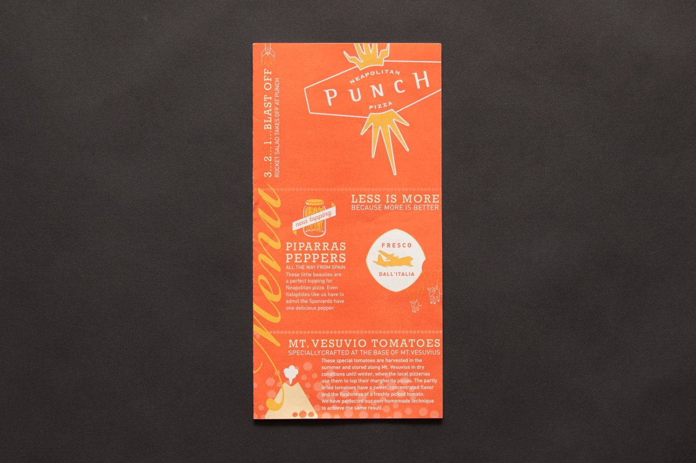 Punch Menu
