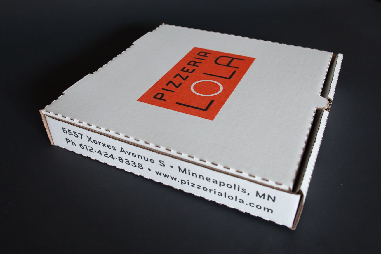 Pizzeria Lola Pizza Box