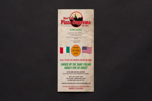 New York Pizza Suprema Menu
