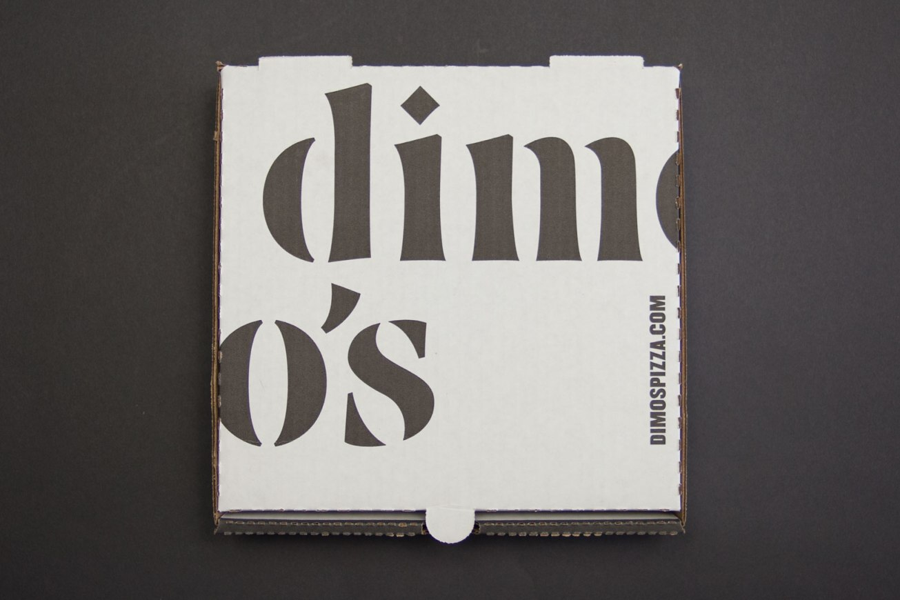 Dimo's Pizza Box