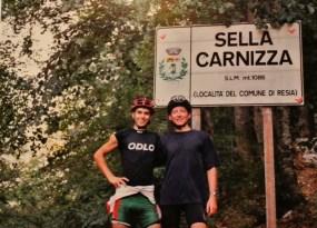 Sella Carnizza, dernier col entre l'Italie et la Slovénie, Voyage en Slovénie, 2005