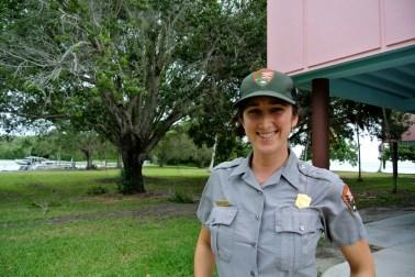 Nicole, Ranger du Parc National des Everglades_usproject2016.com