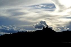Chimney Rock National Monument, Crépuscule du soir (1)