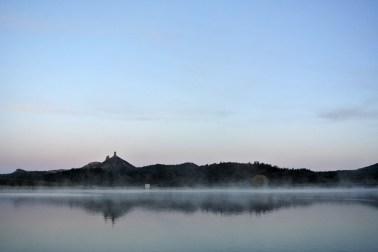 Chimney Rock National Monument, Crépuscule du matin (1)