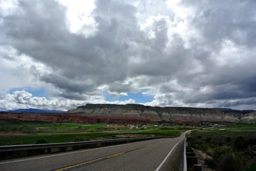 En route vers Bryce Canyon