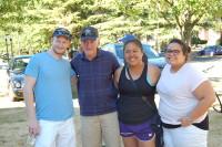 Dan, Mike, and Rotaractors