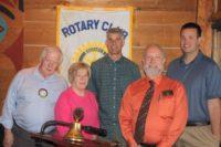 Alan H, Secretary; Colleen W, Membership; Ryan H,. IR Foundation; Pres Jim; Jeff D, Treasurer