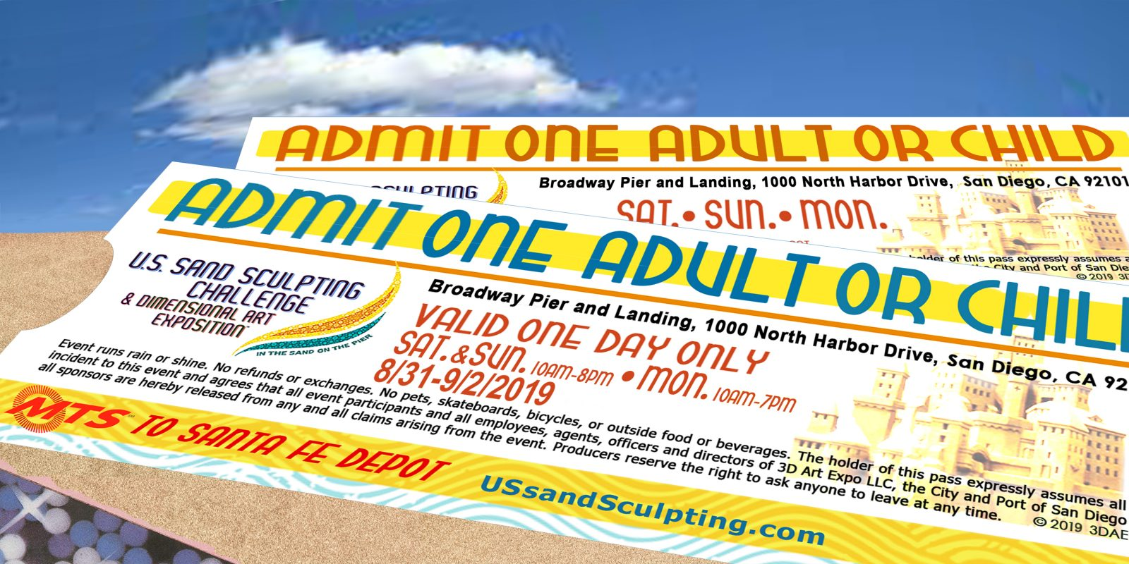 Buy tickets now online | US Sand Sculpting