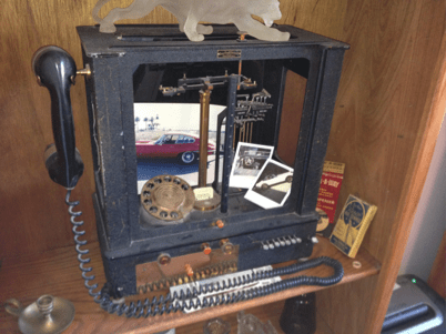 Scott Gossler phone made from scale image
