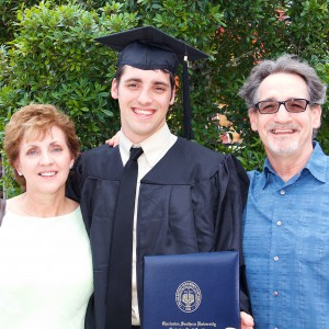Lee's graduation from CSU image