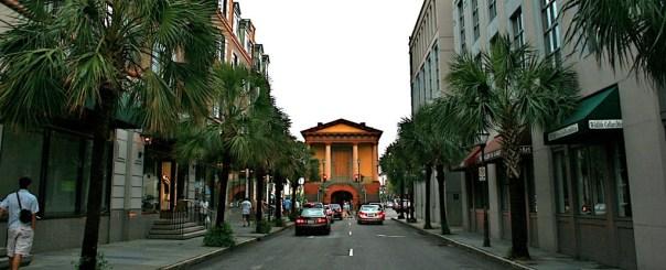 Looking east on Market Street towards Charleston Market image