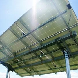 solar adjustable ground mount