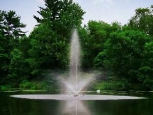 skyward pond fountains