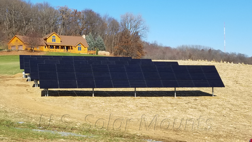 Adjustable Ground Mount Kits - U S  Solar Mounts Store