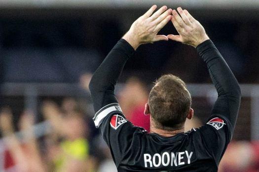 DC United soccer player Wayne Rooney