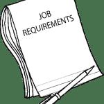 JOB-REQUIREMENTS